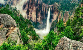 Chihuahua mexico waterfall